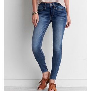 American Eagle Skinny Jeans Jeggings LONG TALL